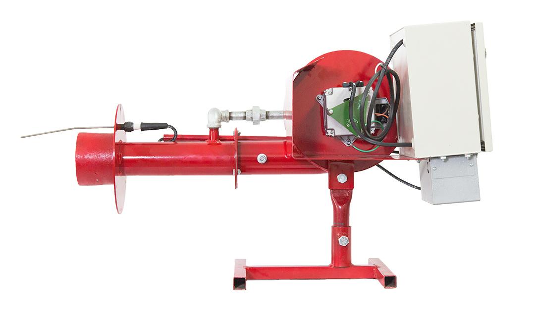 Quemador automatico a gas y diesel