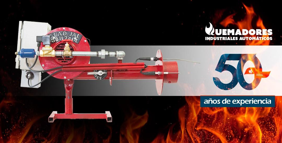 quemadores industriales automáticos