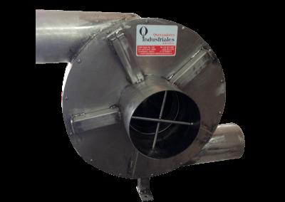 10 – Recurculador de aire caliente modelo 22 bifuncional motor de 5 hp especial . Soporta hasta 350 grados centígrados