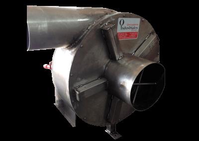 11 – Recurculador de aire caliente modelo 22 bifuncional motor de 5 hp especial . Soporta hasta 350 grados centígrados