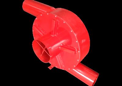 15 – Recurculador de aire caliente modelo 22 bifuncional motor de 5 hp especial . Soporta hasta 350 grados centígrados