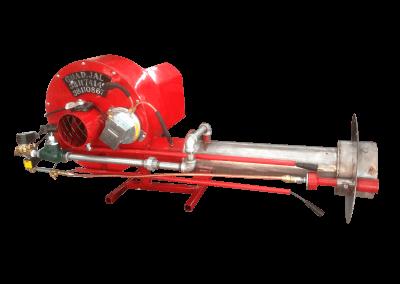 18 – Quemador automático a5 cañón de acero inoxidable, presostato y piloto de ignición tren de válvulas