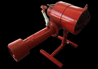 2 – Quemador manual hm1. Funciona con gas lp, natural y metano