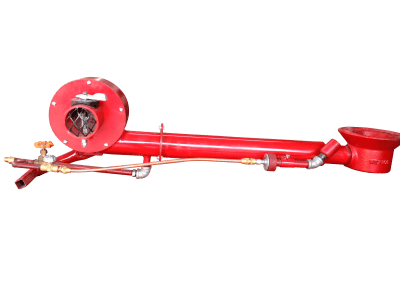 23 – Quemador modelo 8 vertical manual ,especial para calentar tinas cazos y cilindros