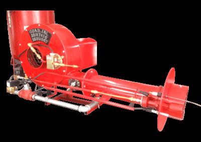 24 – Automático modelo a6 con detector de presión de aire piloto de ignición y tren de válvulas
