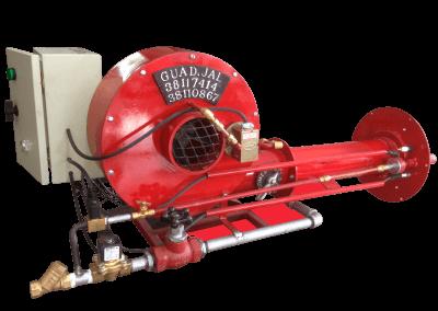 25 – Automático modelo a6 con detector de presión de aire piloto de ignición y tren de válvulas