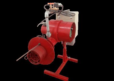 29 – Quemador automático modelo 8 poder de calentamiento desde 50 mil a 900 mil bru/h