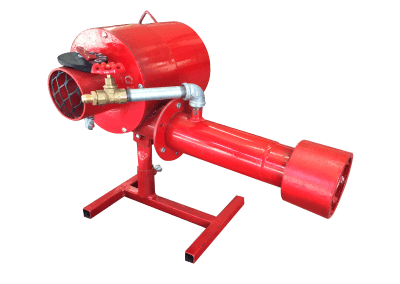 3 – Quemador manual hm1. Funciona con gas lp, natural y metano