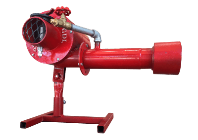 4 – Quemador manual hm1. Funciona con gas lp, natural y metano