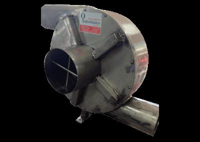 9 – Recurculador de aire caliente modelo 22 bifuncional motor de 5 hp especial . Soporta hasta 350 grados centígrados