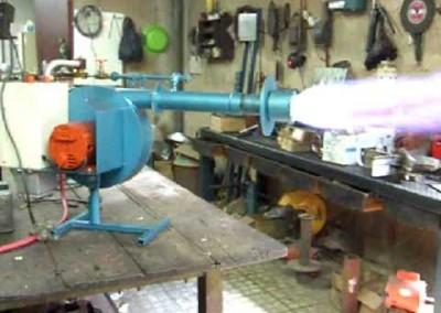 58 Quemador Industrial