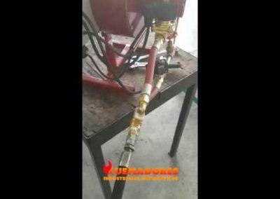 63 Quemador automático de flama baja
