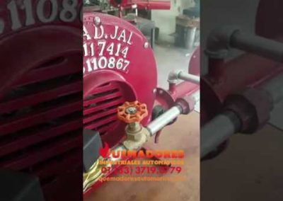64 – Quemador automático con fotocelda UV